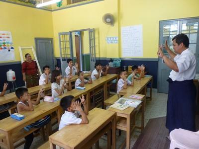 Frivillig arbeid med barn og ungdom i Myanmar (Burma)