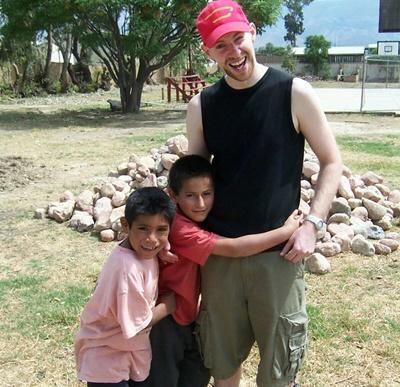 Frivillig i arbeid på et omsorgsenter i Bolivia med Projects Abroad