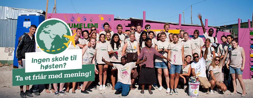 Friår med frivillig arbeid i utlandet