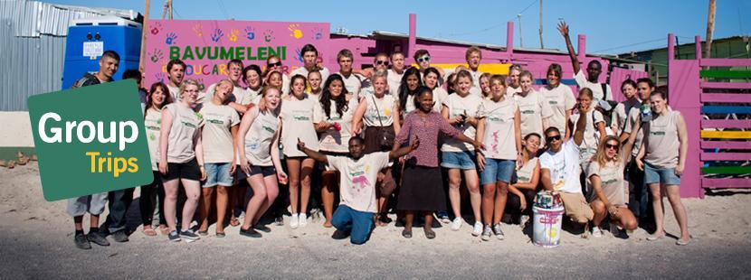 Delta på gruppetur sammen med Projects Abroad