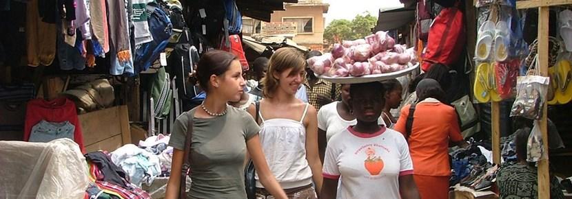 Frivillige hjelper små bedrifter på prosjektet Internasjonal Utvikling