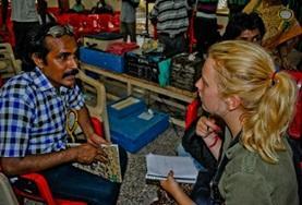 Frivillig arbeid India