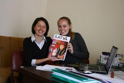 Frivillig og ansatt på printjournalistikkprosjektet i Romania, Europa