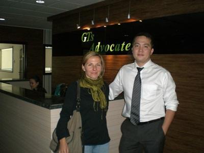 Frivillig og ansatt på menneskerettighetsprosjektet i Mongolia