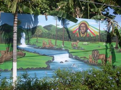 Omsorgsenter på Jamaica hvor frivillige arbeider