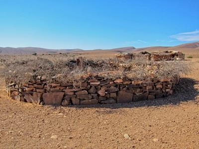 Ørkenen i Marokko hvor de frivillige på kultur- og samfunnprosjektet lever