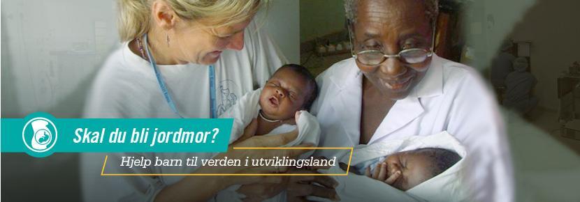 Skal du bli jordmor? Hjelp barn til verden i utviklingsland