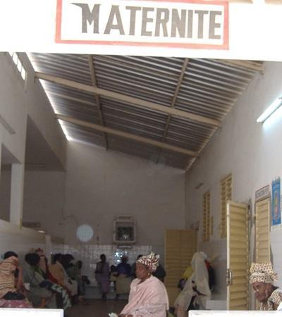 Fødeavdeling på et Barsel- og fødeavdelingprosjekt for frivillige i Senegal