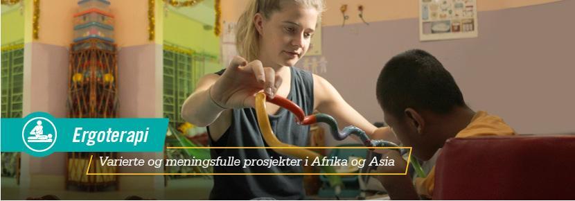 Ergoterapi - Varierte og meningsfulle prosjekter i Afrika og Asia