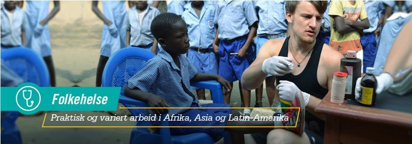 Folkehelse - Praktisk og variert arbeid i Afrika, Asia og Latin-Amerika