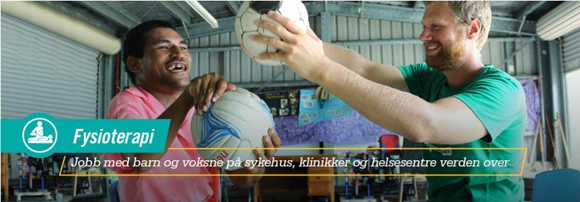 Fysioterapi - Jobb med barn og voksne på sykehus, klinikker og helsesentre verden over