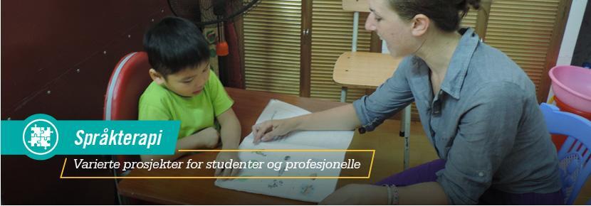 Språkterapi - Varierte prosjekter for studenter og profesjonelle