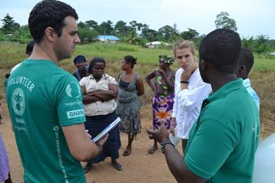 Frivillig arbeid med Mikrofinans i Ghana