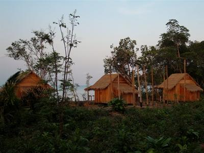 Frivilliges bungalower på Natur & Miljøprosjektet