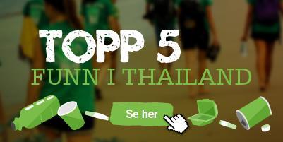 Topp 5 funn i Thailand
