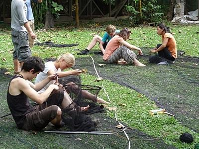 Frivillig på regnskogprosjektet i Amazonas i Peru