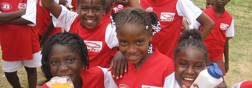 Elever på et Fotballprosjekt i utlandet med Projects Abroad