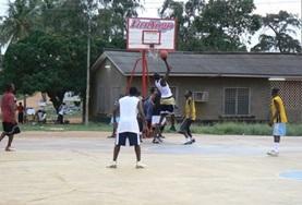 Frivillig arbeid Basketball