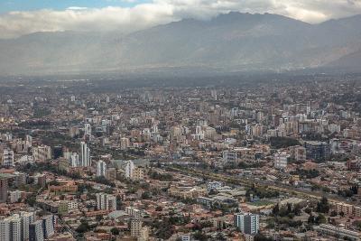 Flott utsikt over byen Cochabamba