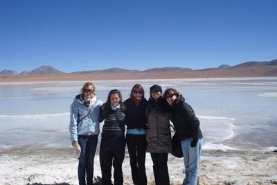Frivillige som reiser for å se snø i Bolivia med Projects Abroad
