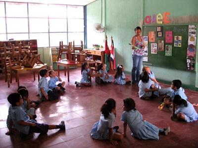 Frivillig undervisning i Costa Rica