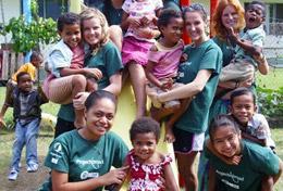 Frivillig i Fiji