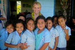 Frivillig i Samoa