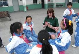 Frivillig i Kina