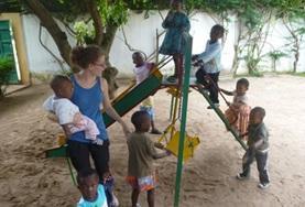 Frivillig i Togo