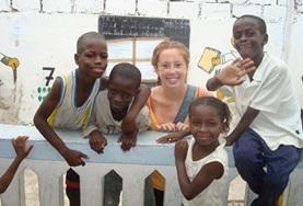 Frivillig i Senegal