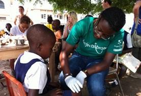 Frivillig i Ghana