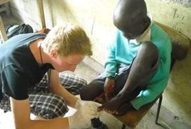 Frivillig i Kenya