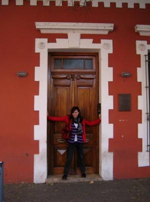 Frivillig som utforsker Cordoba på frivillig arbeid i Argentina