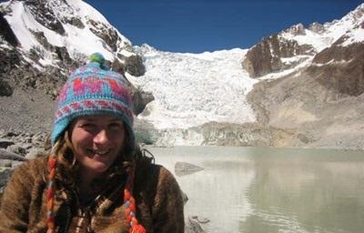 Frivillig som reiser på fritiden i løpet av sitt prosjekt i Bolivia