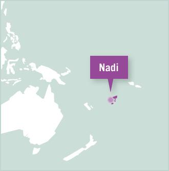Plassering for frivillig arbeid i Nadi, Fiji