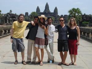 Projects Abroads frivillige reiser til Angkor Wat i Kambodsja, Asia