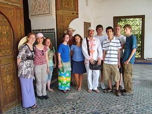 Gruppe med frivillige i Marokko med Projects Abroad