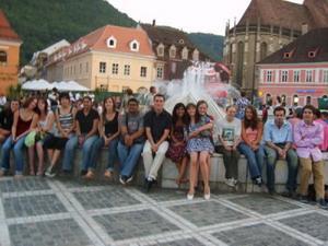 Frivillige i Brasov, Romania